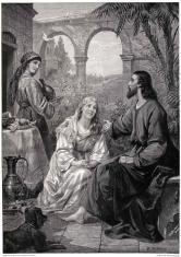 《基督与玛利亚和玛莎》