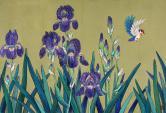 祝大年 紫鸢花