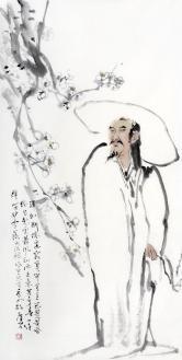 马广平 杜甫诗意图