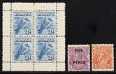 澳洲1928年型张新一枚、邮票新二枚