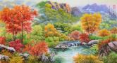 崔国华 溪谷的秋天