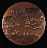 以色列铜章一枚(直径:59mm、带盒)