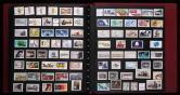 德国邮票册五本(约3900枚、新旧混、含型张、小全张、个别成套)