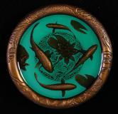 上海造币有限公司金玉满堂大铜章一枚(直径:80mm、带盒、带证书)