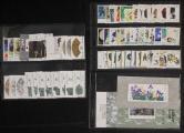 JT82年邮票和型张新全(缺T79(5-1)一枚、多T73矿物一套、部分带直角边)