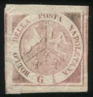 那不勒斯和西西里1858年古典邮票新一枚