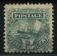 美国古典邮票旧一枚