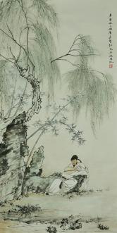 陈长智 清秋图