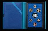 2005年日本哆啦A梦诞辰35周年精制硬币六枚、银章一枚(含银量:92.5%、带盒、带说明书 )