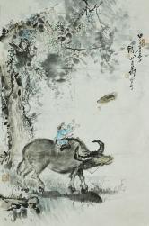 陶李明 牧童趣