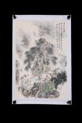 王明明 溪山茶会图