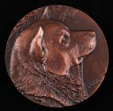 上海造币厂铸2006年狗年属相大明升体育88一枚(直径:80mm、原盒、带说明书)