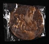 上海造币有限公司发行福星大明升体育88一枚(直径:90mm、发行量:1000枚、带盒、带证书)