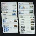 赵涌在线_邮票类_美国二战小型张1991-1994年贴双枚邮票首日封四套20件、贴单枚邮票首日封四套40件