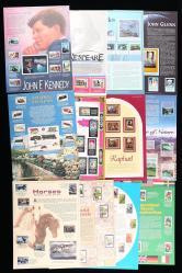 美国佳邮豪华册一本(邮票新约490枚、小全张新三枚、型张新32枚)