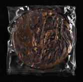 上海造币有限公司铸造龙年生肖大铜章一枚(直径:80mm、原盒、带证书)