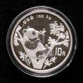 赵涌在线_钱币类_1995年熊猫1盎司普制银币一枚