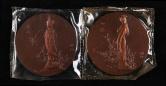 红楼梦大铜章二枚(直径:60mm、带盒)