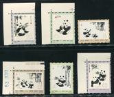 N57-62熊猫新全(部分带数字、色标、直角边)