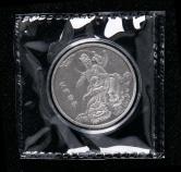 2019年上海造币有限公司铸造文殊菩萨15克仿古银章一枚(限铸量:18枚、带盒、带证书)