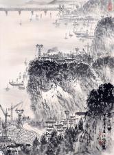宋文治 扬子江畔