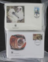 外国WWF首日封约596件(不同、A-S)