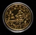 赵涌在线_钱币类_1980年第13届冬季奥运会-男子滑降24克加厚精制铜币一枚(发行量:2000枚)