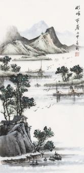 宋兆钦 湖畔
