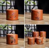 梅兰竹菊茶叶罐