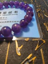 紫水晶招财手串