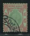 赵涌在线_邮票类_香港1921-37老皇乔治五世$5旧一枚(高值、水印草书CA、难求)