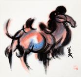 韓美林 駱駝
