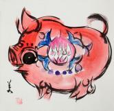 韓美林 豬