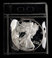 2004年美国鹰洋1盎司银币一枚