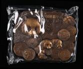 中國金幣總公司發行中國熊貓金幣發行30周年大銅章一枚(帶盒、帶證書)