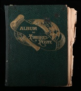 罗斯特定位册一本(含多国早中期邮票新旧混约2888枚)
