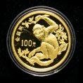 赵涌在线_钱币类_1988年珍稀动物第(1)组-金丝猴8克精制金币一枚(带证书)