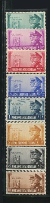 意大利1941年人物票新一套