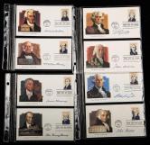 美國40任總統首日封36件