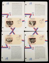 美國獨立戰爭大事回顧首日封58件