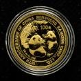 赵涌在线_钱币类_2006年中国民生银行成立十周年熊猫加字1/4盎司普制金币一枚