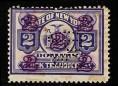 赵涌在线_邮票类_美国1896年纽约发行打孔移位加盖字票新一枚