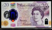 英国塑料钞一枚(BD63398888、狮子号)