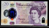 英国塑料钞一枚(BC29112222、狮子号)