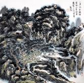 龙瑞 青山流水图