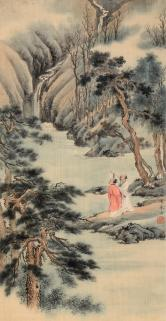 徐邦达 高士图