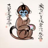 韩美林 猴