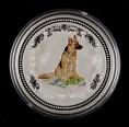 趙涌在線_錢幣類_2006年澳大利亞生肖狗年1盎司銀幣一枚(含銀量:99.9%、帶盒、帶證書)