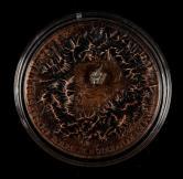 2017年纽埃1盎司银币一枚(含银量:99.9%、原盒、带证书)