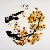 吴东俣(国家一级美术师)梅鹊图